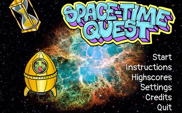 Space Time Quest | Laser Labs